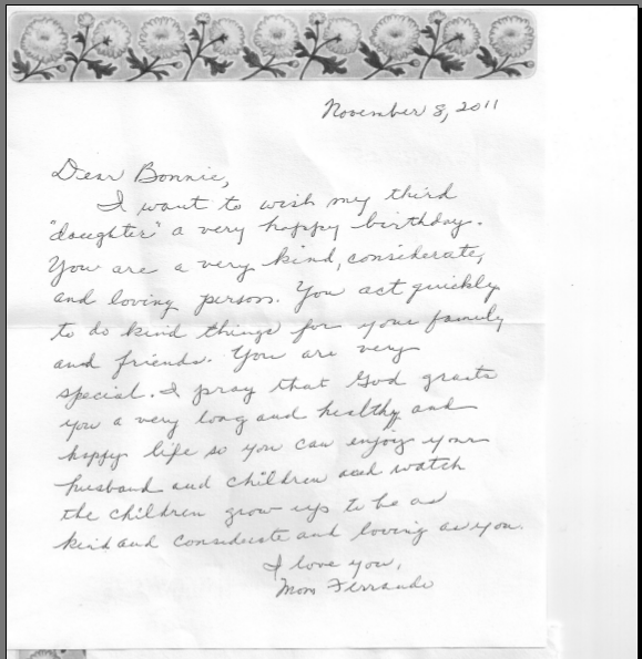 Letters And Correspondence